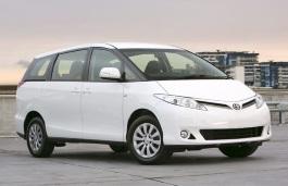 Toyota Tarago wheels and tires specs icon