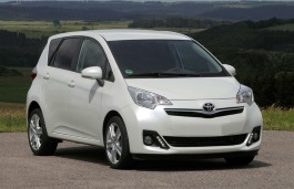 Toyota Verso S wheels and tires specs icon