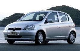 Toyota Vitz wheels and tires specs icon