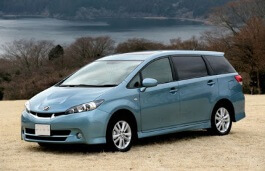 Toyota Wish wheels and tires specs icon