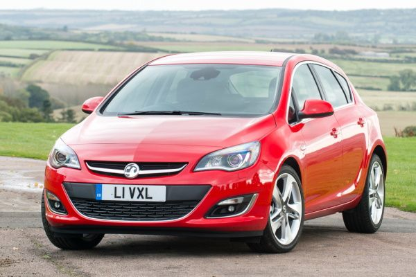 Vauxhall Astra wheels and tires specs icon