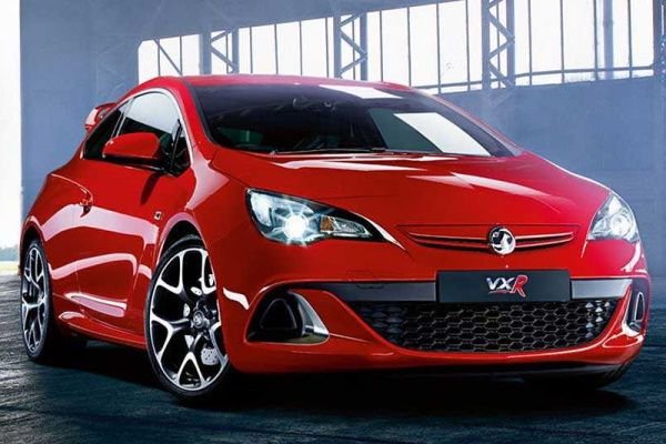 Vauxhall Astra VXR wheels and tires specs icon