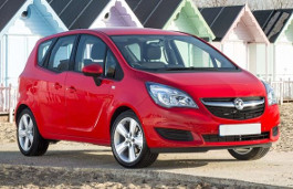 Vauxhall Meriva B Facelift MPV