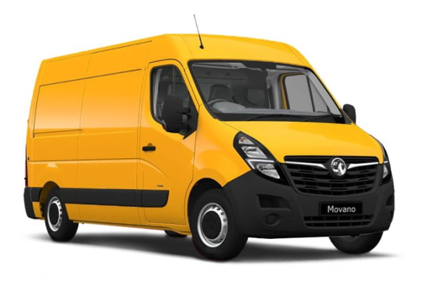 Vauxhall Movano wheels and tires specs icon