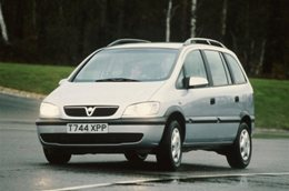 Vauxhall Zafira wheels and tires specs icon