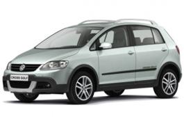 Volkswagen CrossGolf wheels and tires specs icon
