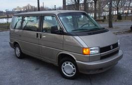 Volkswagen Eurovan wheels and tires specs icon