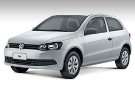 Volkswagen Gol wheels and tires specs icon