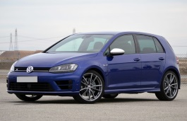 Volkswagen Golf R wheels and tires specs icon