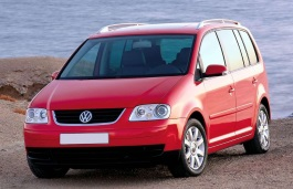 Volkswagen Golf Touran wheels and tires specs icon