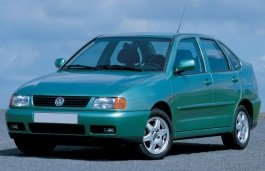 Volkswagen Polo Classic wheels and tires specs icon