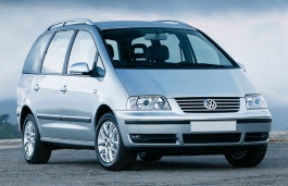 Volkswagen Sharan wheels and tires specs icon