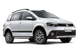 Volkswagen Space Cross wheels and tires specs icon