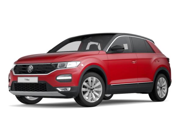 Volkswagen T-Roc wheels and tires specs icon