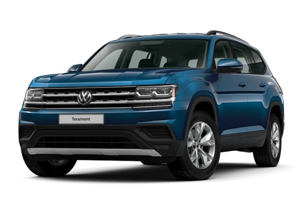 Volkswagen Teramont wheels and tires specs icon