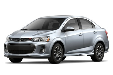 Chevrolet Sonic T300 Facelift Седан