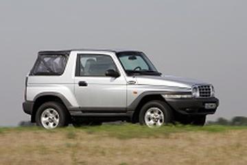Daewoo Korando KJ Open Off-Road Vehicle