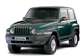 Daewoo Korando KJ Closed Off-Road Vehicle
