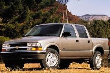 Chevrolet S10 II Facelift Pickup Crew Cab