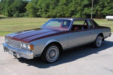 Chevrolet Caprice III Купе