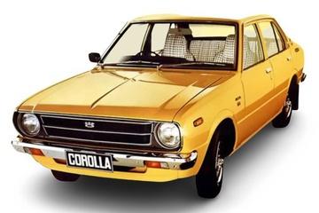 Toyota Corolla III (E30/E50) Седан