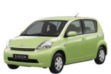 Daihatsu Sirion M300 Hatchback