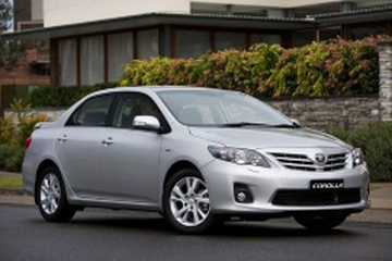 Toyota Corolla X (E150) Facelift Седан