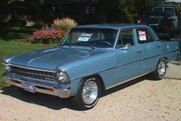 Chevrolet Chevy II II Седан