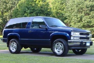 Chevrolet Blazer III Closed Off-Road Vehicle