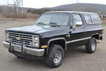 Chevrolet Blazer II Closed Off-Road Vehicle