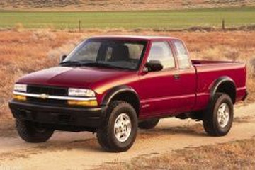 Chevrolet S10 II Facelift Pickup Extended Cab