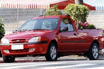 Ford Courier Facelift Pickup