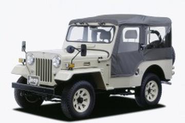 Mitsubishi Jeep J5 Open Off-Road Vehicle