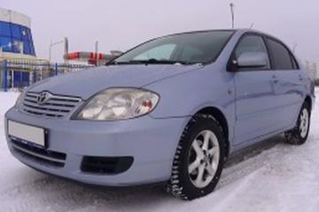 Toyota Corolla IX (E120, E130) Facelift Седан