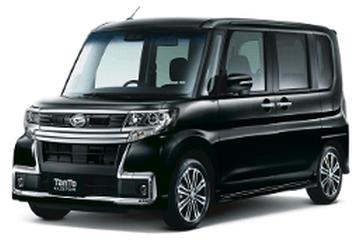 Daihatsu Tanto Custom III Facelift Фургон