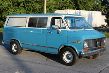 Chevrolet G10 III Фургон