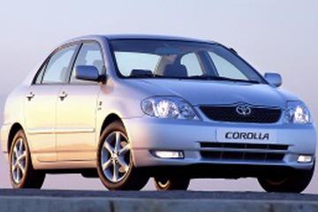 Toyota Corolla IX (E120, E130) Седан