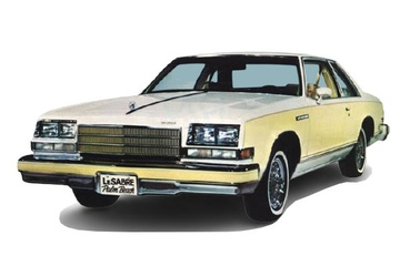 Buick Le Sabre V (B-body) Купе