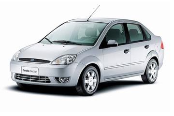 Ford Fiesta V Седан