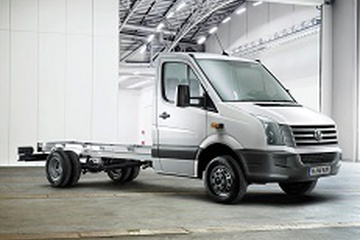 Volkswagen Crafter I (Typ 2E/2F) Chassis cab