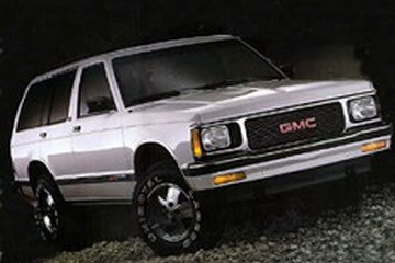 GMC Jimmy GMT300 Closed Off-Road Vehicle