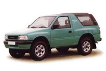 Holden Frontera UT Closed Off-Road Vehicle