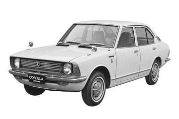 Toyota Corolla II (E20) Седан