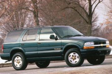 Chevrolet Blazer IV Facelift Closed Off-Road Vehicle