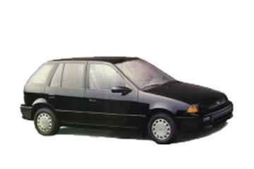 GEO Metro GM M Hatchback