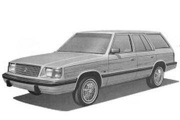 Dodge Aries K-body Универсал