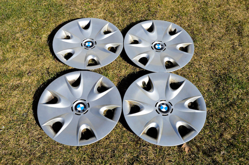 Cover those rims with wheel covers!