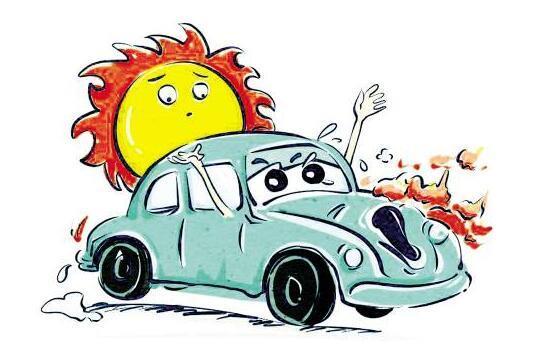 汽车自燃时的应急处理方法?