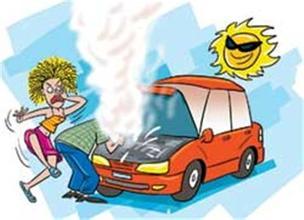 发动机过热时的应急处理?